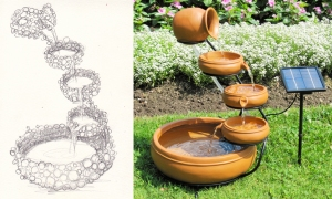 Sketch_of_Fountain_KoolScape5-Tier