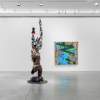 SANFORD BIGGERS DEBUT AT MARIANNE BOESKY
